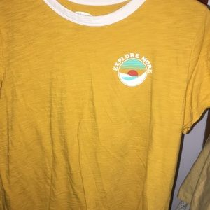A graphic Tee shirt from old navy